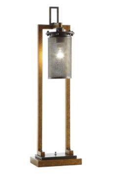 Gibson Copper 36 inch Table lamp  Retail 156 99