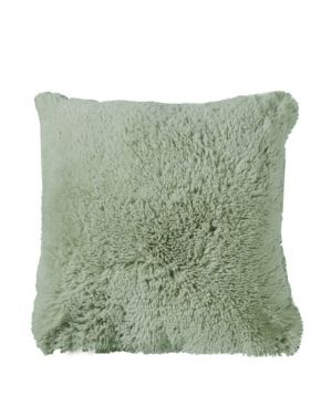luxury Fluffy Plush Throw Pillows  Pack of 4  18x18