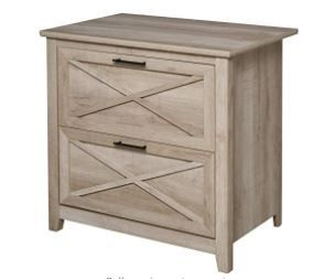 HOMCOM Retro Wooden 2 Drawer lateral File Chest Cabinet Retail 206 49