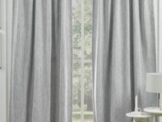 lauren Ralph lauren Palisades Room Darkening Back Tab Rod Pocket Curtain Panel Pair