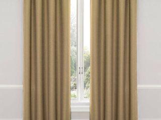 Wyndham Thermaweave Blackout Curtain Panel Pair  Tan   Eclipse