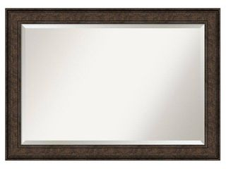 Ridge Bronze Bathroom Vanity Wall Mirror  Retail 114 49