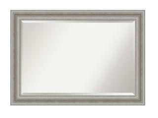 The Gray Barn Parlor Silver Bathroom Vanity Wall Mirror  Extra large