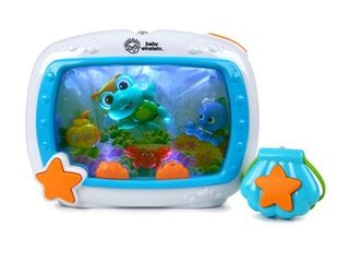 Baby Einstein Sea Dreams Soother Musical Crib Toy and Sound Machine with Remote  lights and Melodies  Newborns