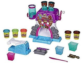 Play Doh Kitchen Creations Candy Delight Playset for Kids 3 Years and Up with 5 Cans  Non Toxic