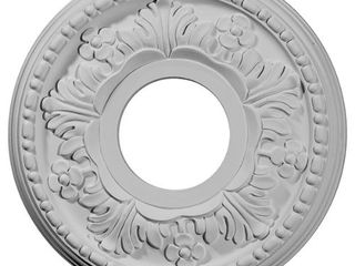 Ekena Millwork CM11HE Helene Ceiling Medallion  11 7 8 OD x 3 5 8 ID x 7 8 P  Fits Canopies up to 5 1 4  Factory Primed