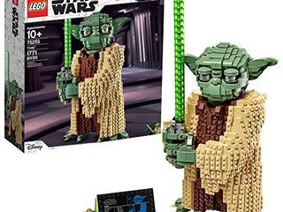lEGO Star Wars  Attack of the Clones Yoda 75255 Yoda Building Model and Collectible Minifigure with lightsaber  1 771 Pieces