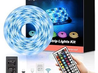 Daybetter led Strip lights 16 4ft Waterproof Color Changing led lights with Remote Controller
