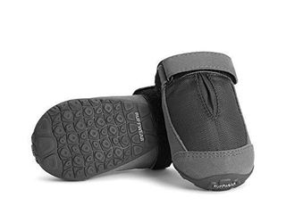 RUFFWEAR  Summit Trex Everyday Dog Boots with Rubber Soles for Walking  Twilight Gray  3 25 in  2 Boots