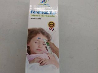 Hospital Medical Grade Digital Infrared Forehead   Ear Thermometer   Pouch