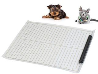 ASSENIO Scat Mat for Dog 2020 Upgraded  Indoor Electronic Pet Shock Training Mat for Dogs and Cats  Keep Pets Away from Unwanted Places 17 in x 22 in