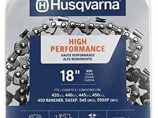 Husqvarna chainsaw chain 18 Inch  050 gauge  325 pitch low kickback low vibration