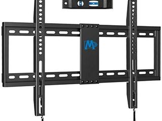 Mounting Dream TV Mount Fixed for Most 42 70 Inch Flat Screen TVs   TV Wall Mount Bracket up to VESA 600 x 400mm and 132 lbs   Fits 16 18 24  Studs   low Profile and Space Saving MD2163 K