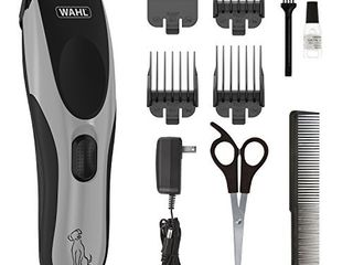 Wahl Easy Pro for Pets  Rechargeable Dog Grooming Kit a Quiet  low Noise  Heavy Duty Electric Dog Clippers for Dogs   Cats with Thick to Heavy Coats   Model 9549  09549