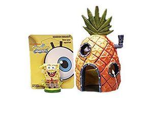 Penn Plax SpongeBob   Pineapple House Aquarium Ornament