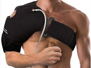 NatraCure Hot Cold   Compression Shoulder Support 6032    left Right Shoulder Brace     for Shoulder Sprains  Strains and Post Rotator Cuff Surgery