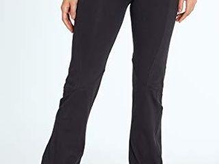 Bally Total Fitness Women s Ultimate Slimming Pant legging  Black  large