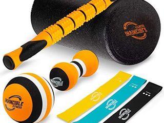 Invincible Fitness Foam Roller Set