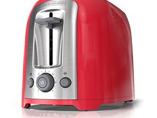 BlACK DECKER 2 Slice Toaster  Red  TR1278RM