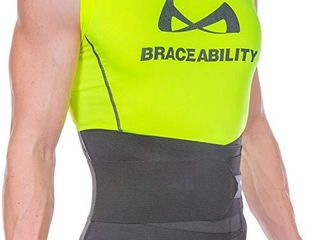 BraceAbility Elastic   Neoprene Compression Back Brace    large