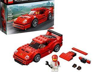 lEGO Speed Champions Ferrari F40 Competizione 75890 Building Kit  198 Pieces