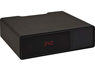 Hornady Rapid Safe Night Guard a Nightstand Gun Safe with RFID Reader  Clock  USB Ports a RFiD Safe for Fast  Multiple Method Entry a Includes Rapid Safe  3 Methods of Entry and Security Cable