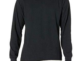 Jerzees Men s Dri Power long Sleeve T Shirt  Black  Medium