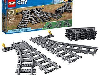 lEGO City Switch Tracks 60238 Building Kit  6 Pieces