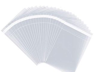 Pack It Chic   4a X 6a Clear Resealable Cellophane Cello Bags   Fits 4X6 Prints  Photos  A1 Cards  Envelopes   Self Seal