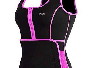 AlONG FIT Sweat Sauna Vest for Women Waist Trainer Corset Fitness Plus Size Neoprene Body Shaper