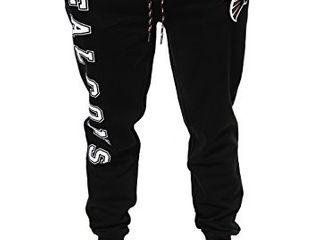 NFl Ultra Game Atlanta Falcons Active Basic Jogger Fleece Pants  Medium  Alternate Team Color STAINED