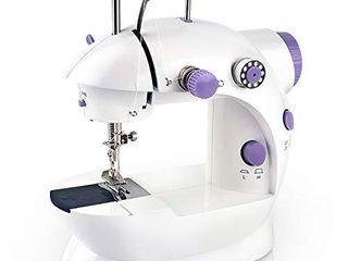Mini Handheld Sewing Machine   2 Speed  2 Thread  Cutter  Foot Pedal