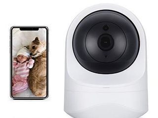 Home Security Camera BIZGOOD Baby Monitor 1080P HD WiFi Camera for Pets Nanny Cam  Free Motion Alerts  2 Way Audio  Night Vision  Compatible with Alexa Echo Show  Storge by TF Card Slot and Cloud