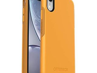 OtterBox SYMMETRY SERIES Case for iPhone Xr   Frustration Free Packaging   ASPEN GlEAM  CITRUS SUNFlOWER  NOT INSPECTED