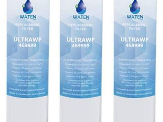 UlDRAi1 4F Compatible Refrigerator Water Filter Replacement Pure Source 3 3 PCS