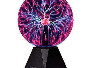 Katzco Plasma Ball   7 Inch   Nebula  Thunder lightning  Plug in   for Parties  Decorations  Prop  Home