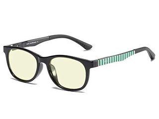 DUCO Kids Computer Glasses Video Gaming Glasses for Kids and Teens   Anti Harmful Blue light UV400 K016