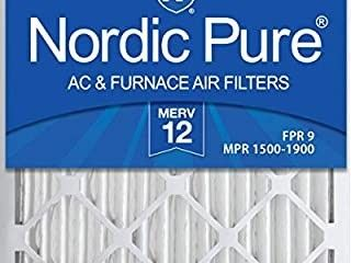 3 20x25x2 pack of Nordic Pure Air filters