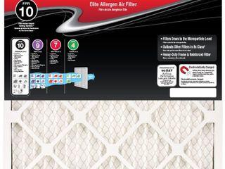 Honeywell 20 x 25 x 1 Elite Allergen Pleated FPR 10 Air Filter