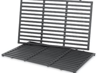 Weber 7524 Porcelain Enameled Cast Iron Cooking Grates  19 5 x 12 9 x 0 5  pack of 3