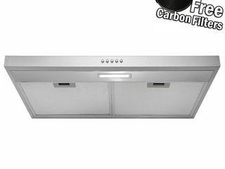 AKDY RH0336 30  Under Cabinet Stainless Steel Range Hood