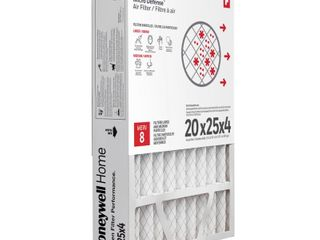 Honeywell Home 20 x 25 x 4 Pleated Air Filter FPR 10