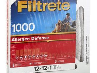 Filtrete Micro Allergen 12x12x1  Air Filter