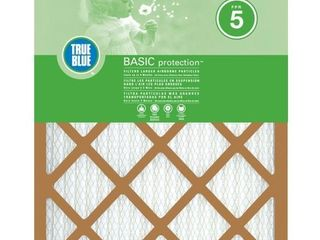 24 x 24 x 1 Basic Pleated FPR 5 Air Filters  3 Pack