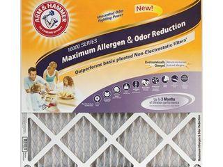 Arm   Hammer 14x25x1 Arm hammer Max Allergen   Odor  4 pack