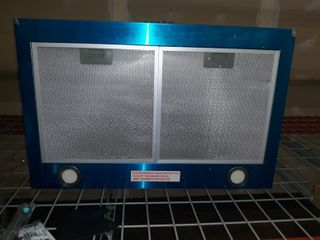 30 in  Convertible Wall Mount Range Hood in Stainless Steel with Mesh Filters and Push Button Control