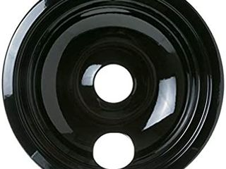 GE WB31M19 Genuine OEM 8  Porcelain Burner Drip Bowl  Black  for GE Electric Ranges 6 pack