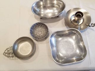 Assorted Silverplate pieces