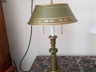 Metal lamp 25 tall