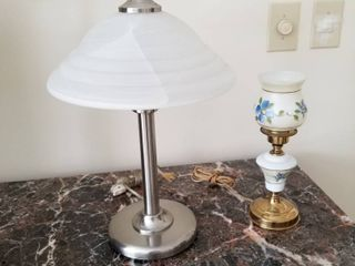 Set of 2 lamps  tallest is 19